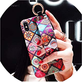 Super Cute Animal Wristband Phone Case for iPhone 6 6S 7 8 Plus Cases Leather Luxury Anti-Knock Cover for iPhone X XS MAX XR,SHGZ,for iPhone Xs MAX