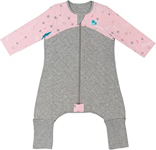 Love To Dream Sleep Suit, 2.5 TOG, Pink, 12-24 Months, Premium All-in-one Quilted Wearable Blanket That can't be Kicked Off, Legs with 2-in-1 feet Perfect for Sleep & Play, Ideal for Active Toddlers