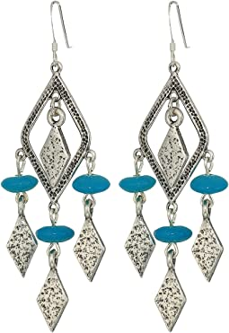 Spearhead Deep Ocean Earrings