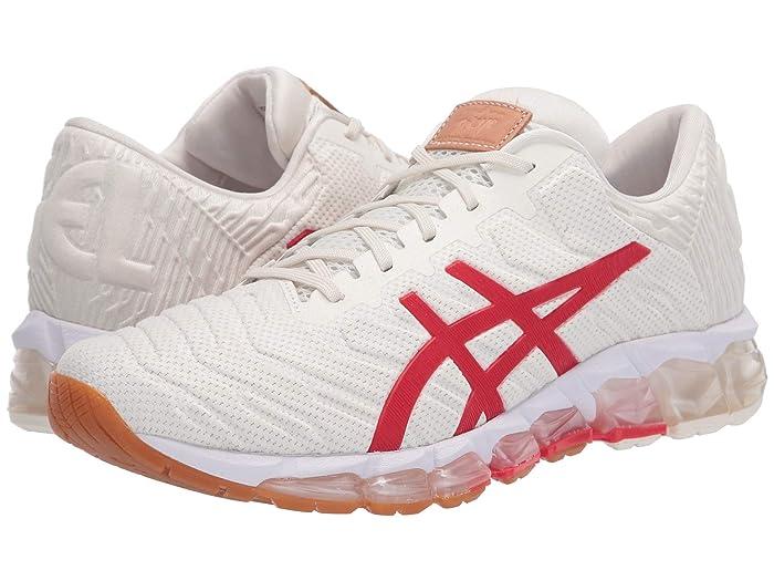 ASICS  GEL-Quantum 360 5 (Cream/Classic Red) Womens Running Shoes