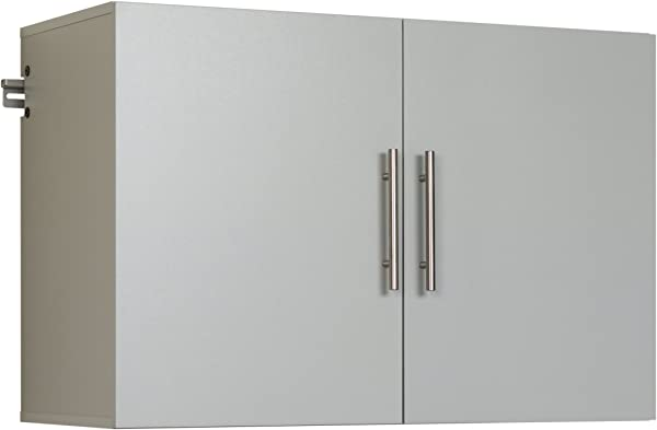 Prepac GSUW 0708 1 Hang Ups Upper Storage Cabinet 36 Light Gray