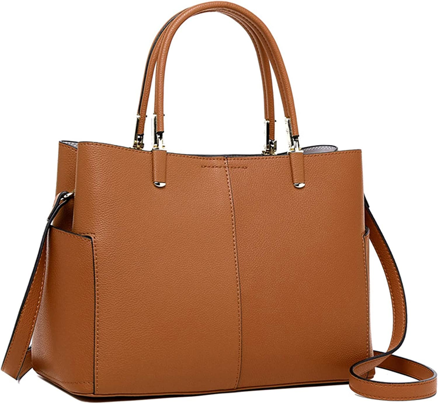 NOTAG Leather Handbags for Women Large Shoulder Bag Casual Tote Bag Ladies Purses Travel Crossbody Bags