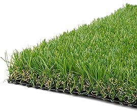 Synturfmats 16inx32in Artificial Grass Carpert Rug - Premium Indoor/Outdoor 4-Tone Synthetic Turf, 1 Inch Blades Height
