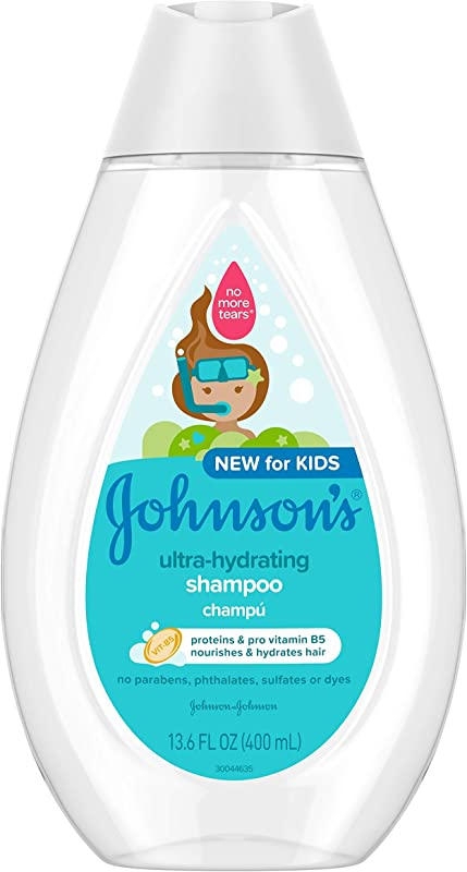 Johnson S Baby Ultra Hydrating Tear Free Kids Shampoo With Pro Vitamin B5 Sulfate Free 13 6 Fl Oz