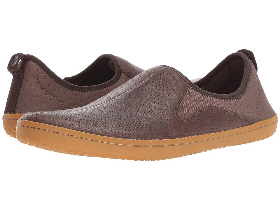 Vivobarefoot Slyde Leather (Dark Brown) Men