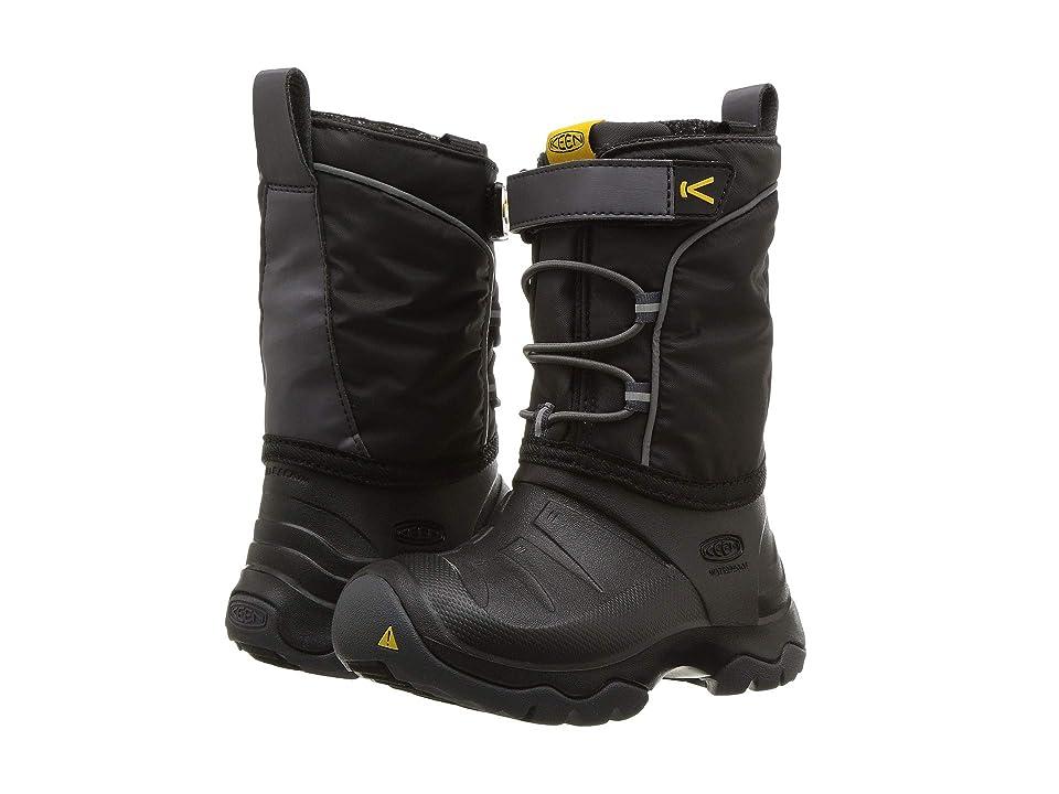 Keen Kids Lumi Boot WP (Toddler/Little Kid) (Black/Magnet) Kids Shoes
