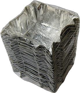 東洋アルミ 『食品用 アルミカップ』 ホイルケース(スエルケース)四角型バラ(500枚包)