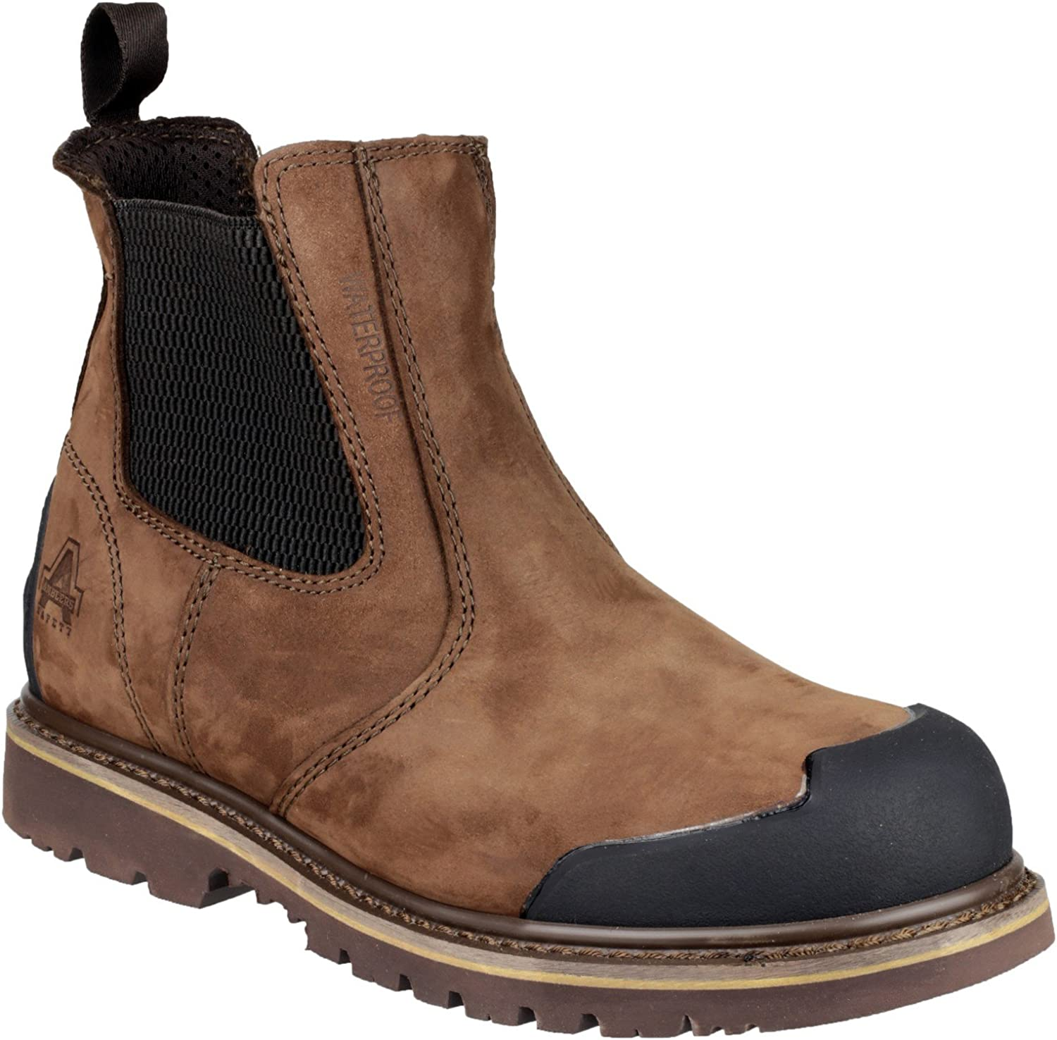 Amblers Safety FS225 Boot Mens Boots Steel Toe Cap Work Leather Footwear
