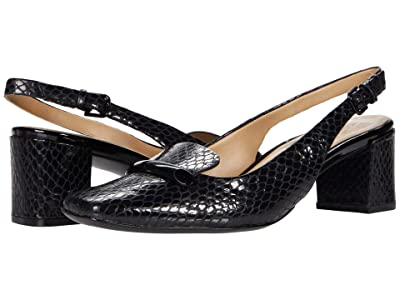 Naturalizer Kendry (Black Snake Print Leather) Women