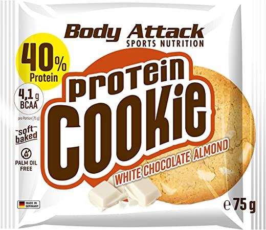Body Attack proteína Cookie (12 x 75 g)