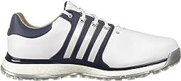 Footwear White/Collegiate Navy/Gold Metallic
