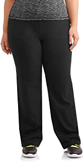 Athletic Works Plus Size Women's Dri More Bootcut Pants - Yoga, Fitness, Activewear