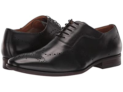 Steve Madden Dimas Oxford (Black Leather) Men