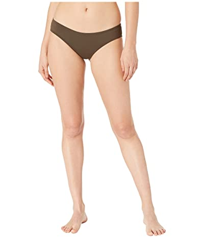 Vince Camuto Surf Shades Shirred Smooth Fit Cheeky Bikini Bottoms (Bonsai) Women