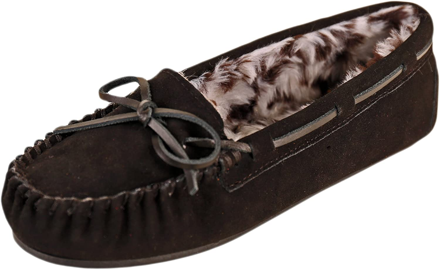 Tamarac by Slippers International Womens Peggy Sue Leather Closed Toe Slip On.
