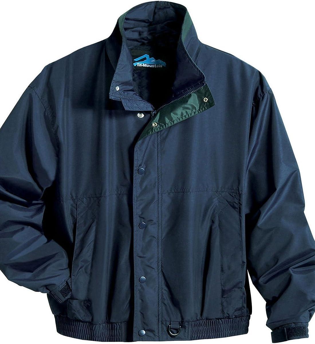 Men Toughlan Windproof/Water Resistant Storm Flap Shell Jacket (6 Color,S-6XLT)