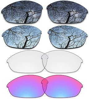 ToughAsNails Set of 4 Replacement Lenses for Oakley Half Jacket Pack-BSHG5