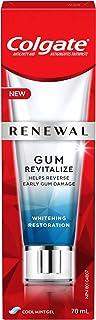 Colgate Renewal Gum Revitalize Toothpaste, Whitening Restoration, Cool Mint Gel Formula, 70 Milliliters