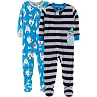 Carter's Boys' 2-Pack Fleece Pajamas