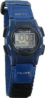 VibraLITE Mini 12-Alarm Vibrating Watch - Navy Blue