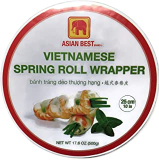 Asian Best Vietnamese Spring Roll Wrapper, 17.6oz Unit
