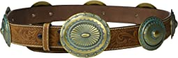 Embossed Large Concho Belt