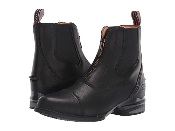 Ariat  Devon Nitro Paddock (Black) Womens Lace-up Boots