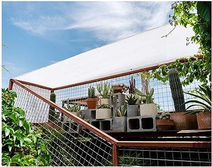 Sombra Vela Toldo Vela 3x5m 4x4m Tela Blanca Sombrilla Tela ...