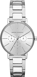 Armani Exchange Womens Quartz Watch, Analog Display and Stainless Steel Strap AX5551