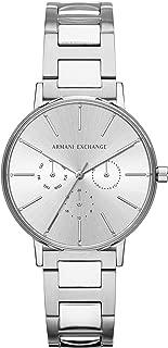 ARMANI EXCHANGE Women's Quartz Wrist Watch analog Display and Stainless Steel Strap, AX5551