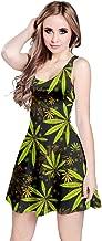 weed leaf dress