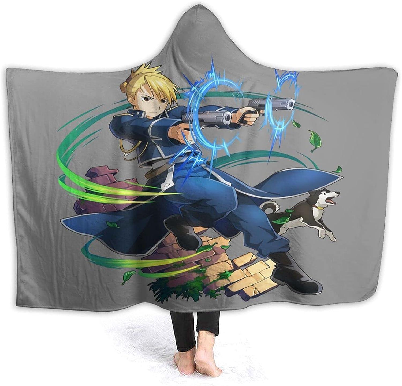 Product Fullmetal Alchemist Brotherhood Wearable Hooded shipfree Blanket