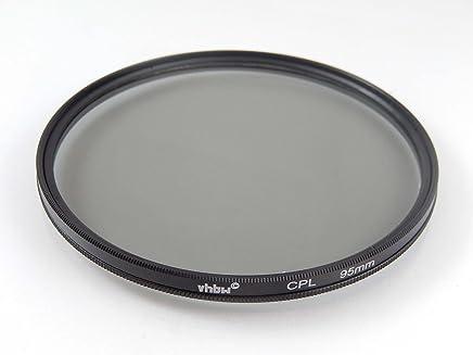 Estudio de fotografía e iluminación Filtro Protector UV Universal vhbw 67mm para cámara Canon EF 70-200 mm 4.0 L USM Canon EF 70-300 mm 1:4-5.6L IS USM.