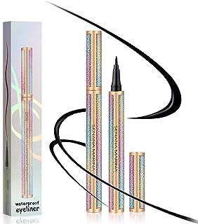 Liquid Eyeliner Black, Ksndurn Eyeliner - Waterproof Eyeliner Pencil, Eye Liners for Women Waterproof/Liners Long-Lasting ...