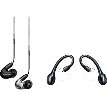 Shure AONIC 5 True Wireless Bundle with SE535 Sound Isolating Earbuds + RMCE-TW1 True Wireless Adapter - Black