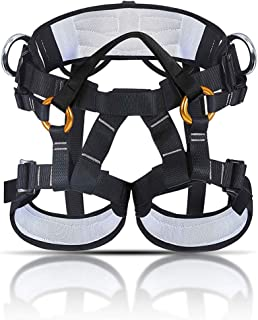 comprar comparacion KINGUARD Arnés de Escalada Alpinismo Cuerda Equipo Escalada Ajustable Cinturón Seguro de Cadera de Cintura para Mujer y Ho...