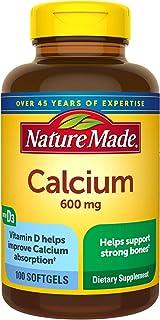 Nature Made - Calcium 600 Mg. 100 Liquid Softgels 161620