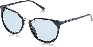 Calvin Klein Round Essentials Blue Teal Sunglasses-54