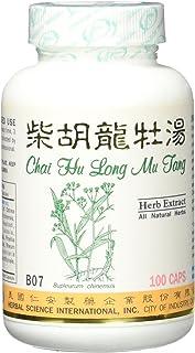 Bupleurum Dragon Formula Dietary Supplement 500mg 100 Capsules (Chai Hu Long Mu Tang, Chai Hu Jia Long Gu Mu Li Tang) B07 ...