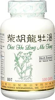 Bupleurum Dragon Formula Dietary Supplement 500mg 100 capsules (Chai Hu Long Mu Tang, Chai Hu Jia Long Gu Mu Li Tang) B07 100% Natural Herbs