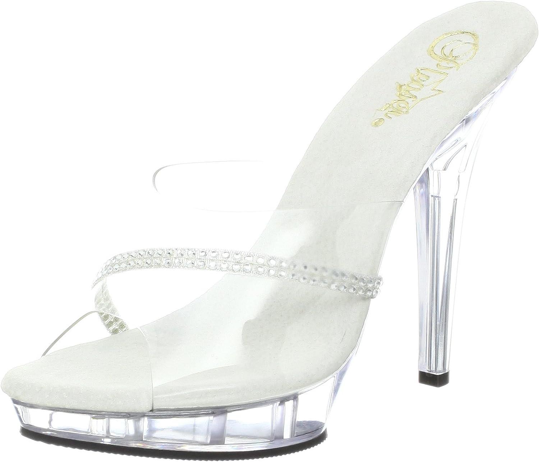 Pleaser Women's Lip 101R Platform Sandal