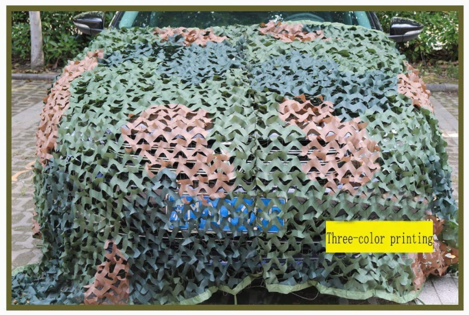 Camouflage net, Oxford Cloth, Suitable for Hunting, Camping, Shooting, Sunshade, Camping, Hiding, etc, with Camouflage, Digital, Pure Green, etc.