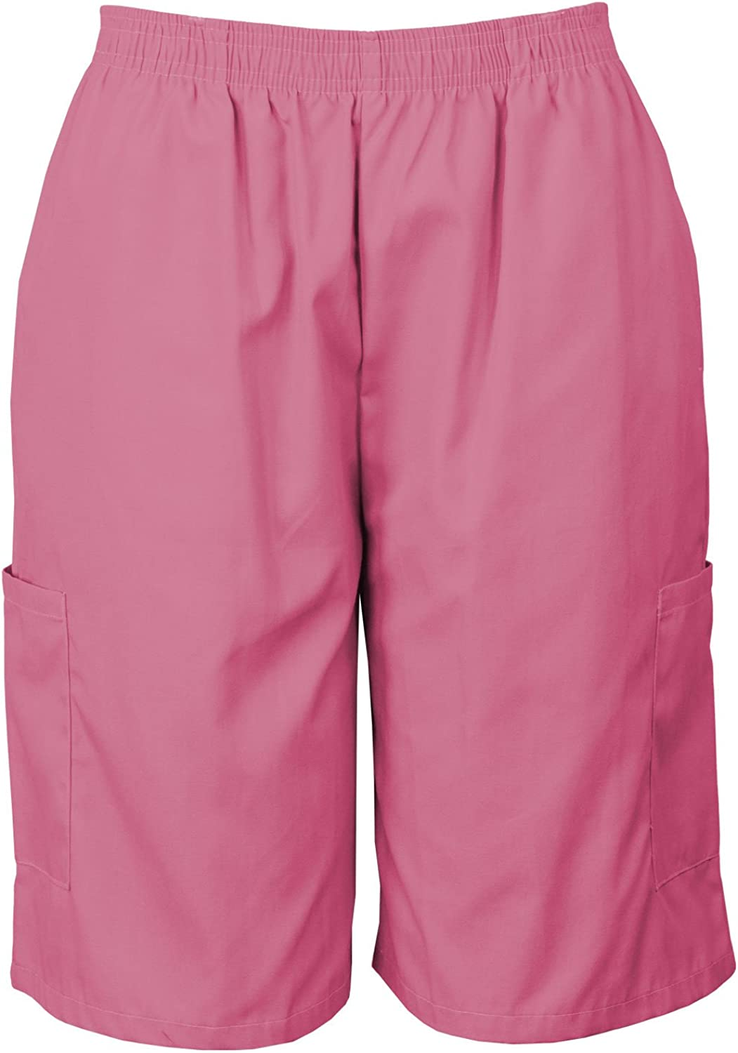 Medgear Scrubs Shorts with New Shipping Free Shipping Elastic Waist Pockets Poly Regular discount Cargo and