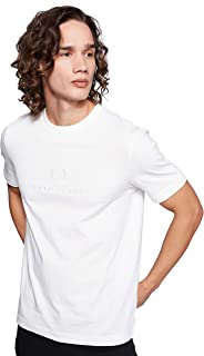 Fred Perry Mens Embroidered Graphic T-Shirt