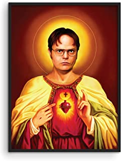 """The Office Dwight Schrute Poster - by Haus and Hues 
