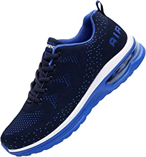 Men's Lightweight Athletic Running Shoes Breathable Sport Air Fitness Gym Jogging Sneakers US6.5-12