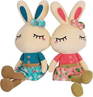 Easter Gift Easter Bunny holding name rabbit ears rabbit toy Easter Gifts Spring Themed Gifts keepsake easter bunny soft toy