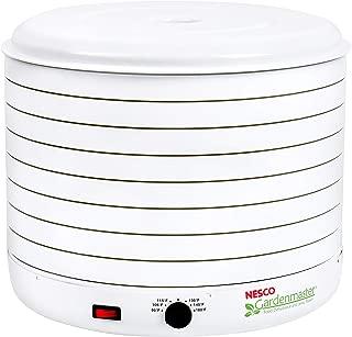 NESCO FD-1018A, Gardenmaster Food Dehydrator, White, 1000 Watts