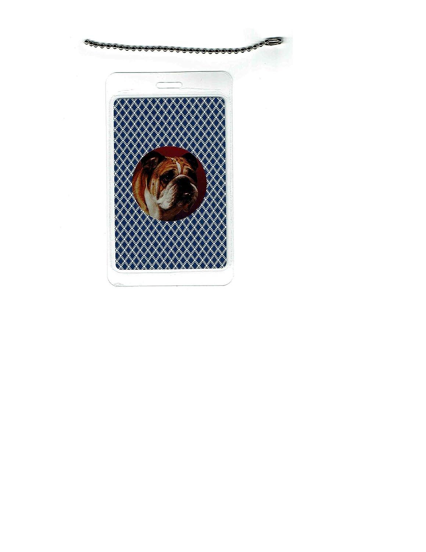 English Bulldog Dog Luggage set Las Vegas Mall 2 Tag Popular popular of