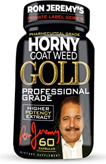 Ron Jeremy's Private Label Series - Horny Goat Weed Gold Professional Grade